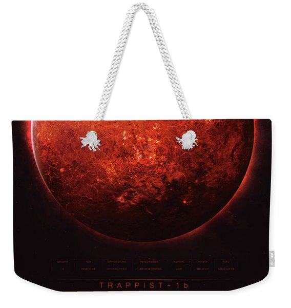 Trappist-1b Weekender Tote Bag