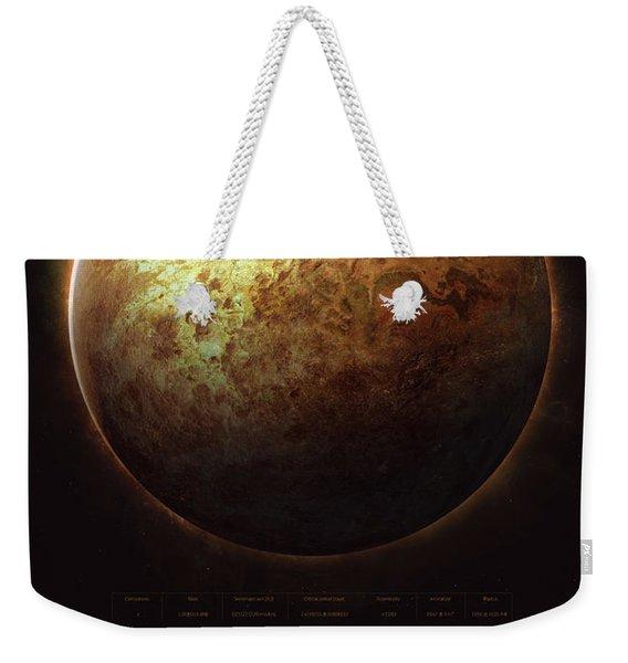 Trappist-1c Weekender Tote Bag