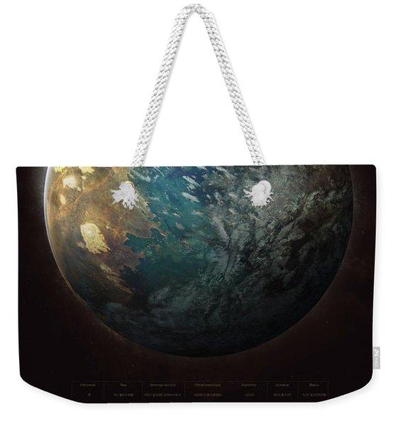 Trappist-1d Weekender Tote Bag