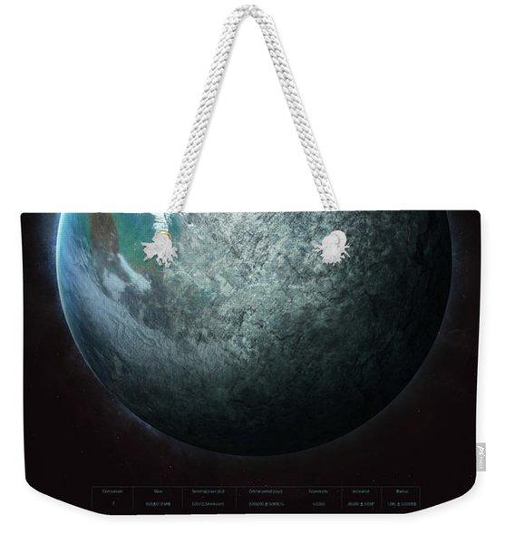 Trappist-1f Weekender Tote Bag