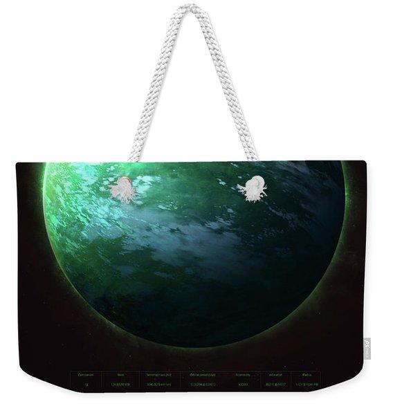 Trappist-1g Weekender Tote Bag
