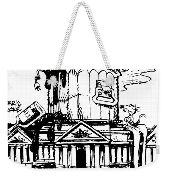 Trash Congress Weekender Tote Bag