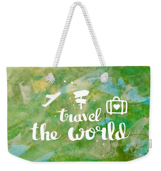 Travel The World  Weekender Tote Bag