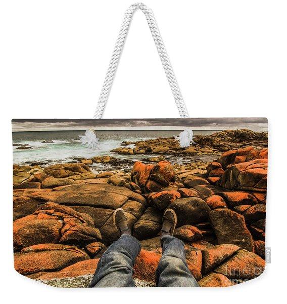 Travelling West Coast Tasmania Weekender Tote Bag