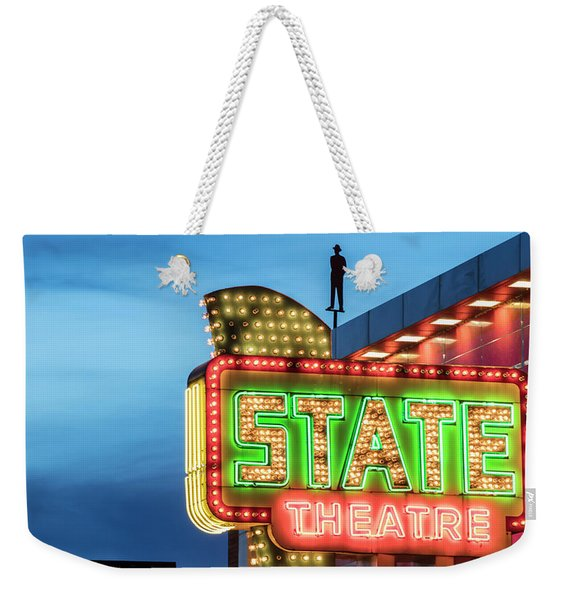 Traverse City State Theatre Weekender Tote Bag