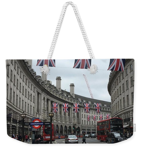 Traversing London Weekender Tote Bag