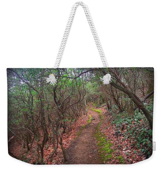 Tray Mountain Weekender Tote Bag