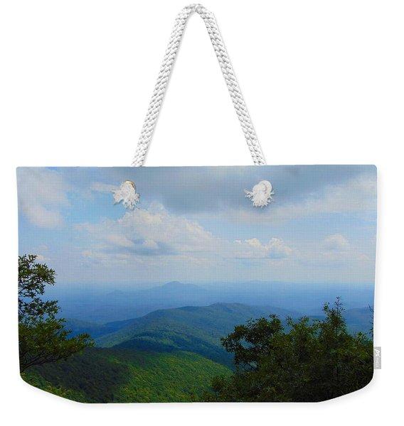 Tray Mountain Summit - North Weekender Tote Bag
