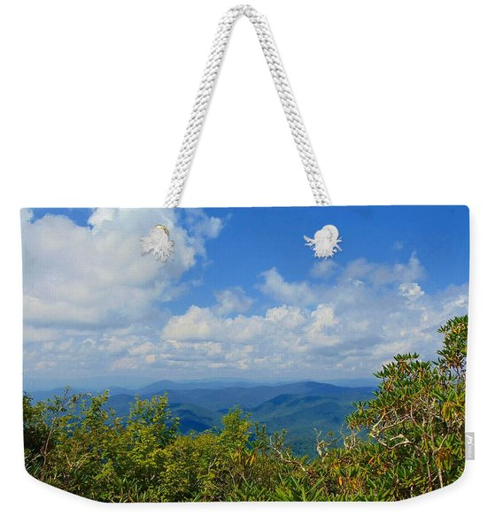 Tray Mountain Summit - South Weekender Tote Bag