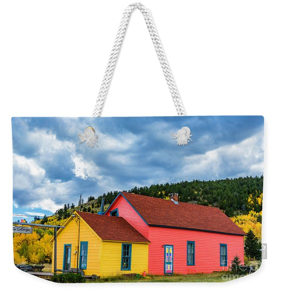 Tre Colore Weekender Tote Bag