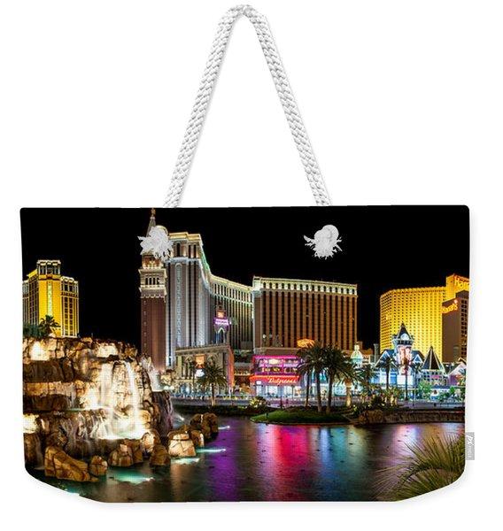 Treasure Island View Weekender Tote Bag