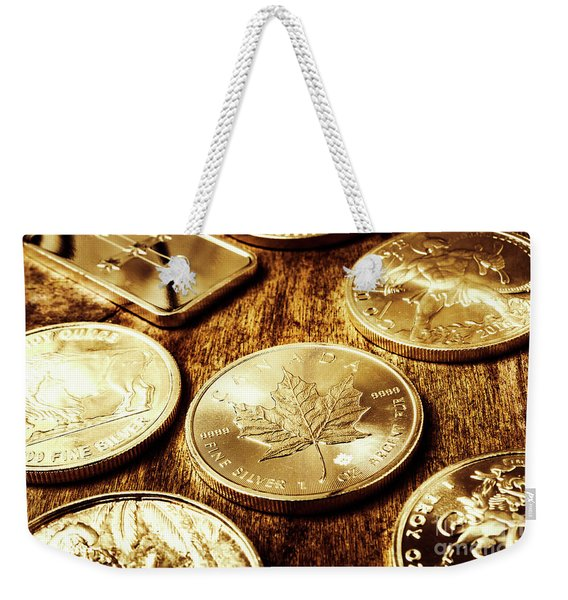 Treasures From The Bullion Vault Weekender Tote Bag