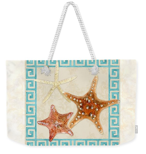 Treasures From The Sea - Starfish Trio Weekender Tote Bag