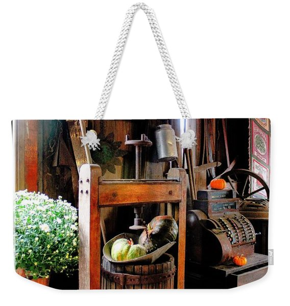 Treasures Of  Fall Weekender Tote Bag