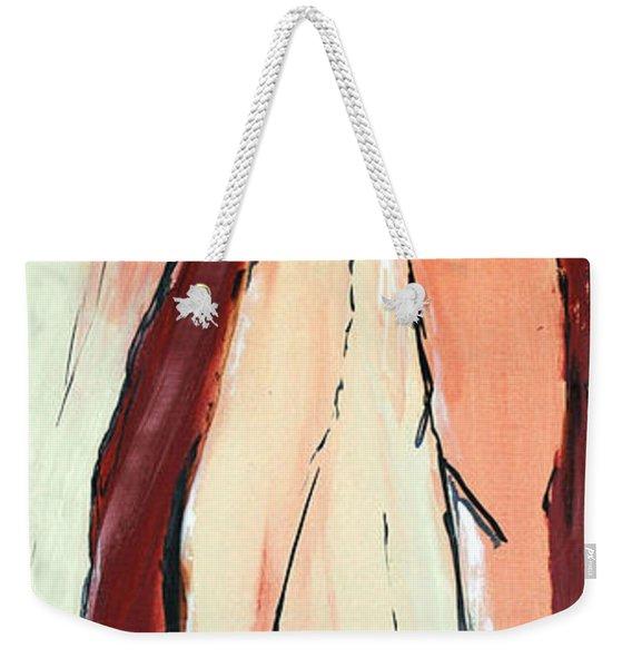 Tree And Her Browns Weekender Tote Bag