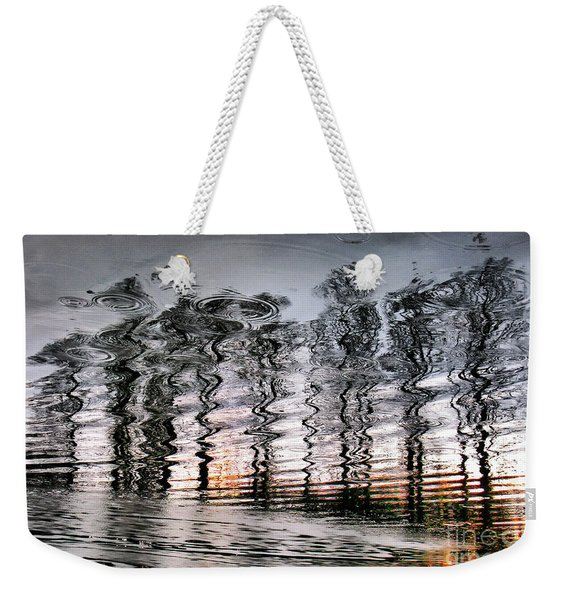 Tree And Reflection Weekender Tote Bag