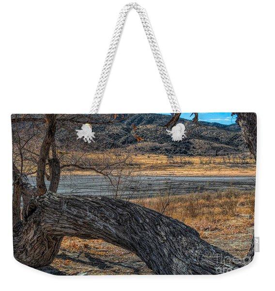 Tree At Elizabeth Lake Weekender Tote Bag