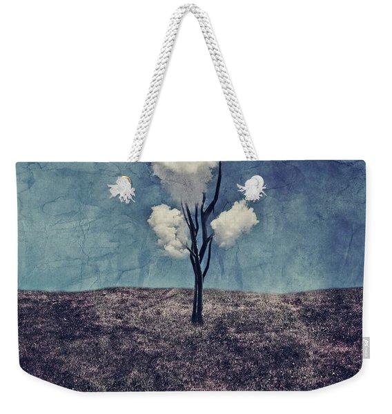Tree Clouds 01d2 Weekender Tote Bag
