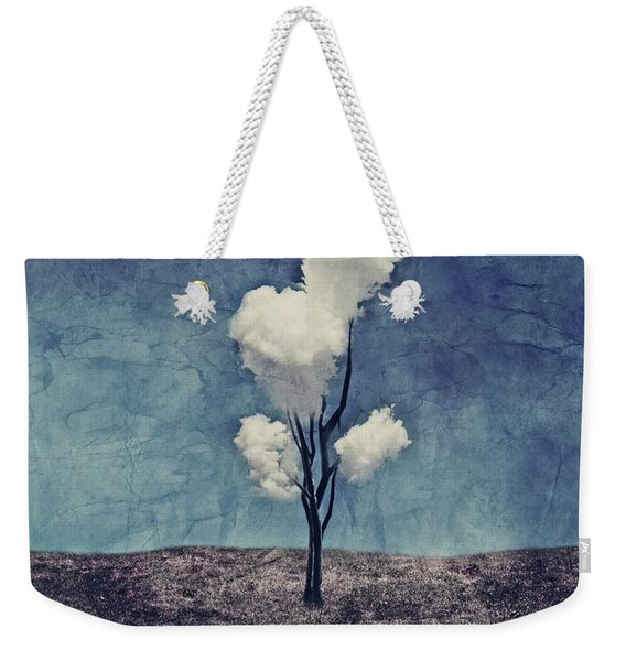 Tree Clouds 01d2 Weekender Tote Bag
