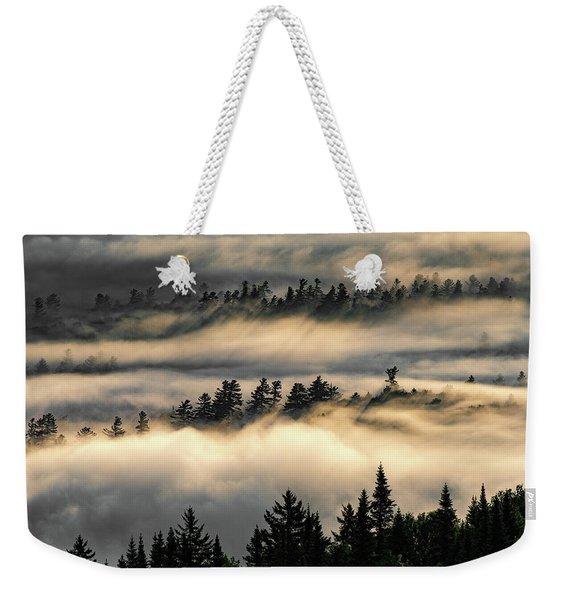 Trees In The Clouds Weekender Tote Bag