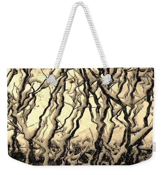 Tree Frenzy Weekender Tote Bag