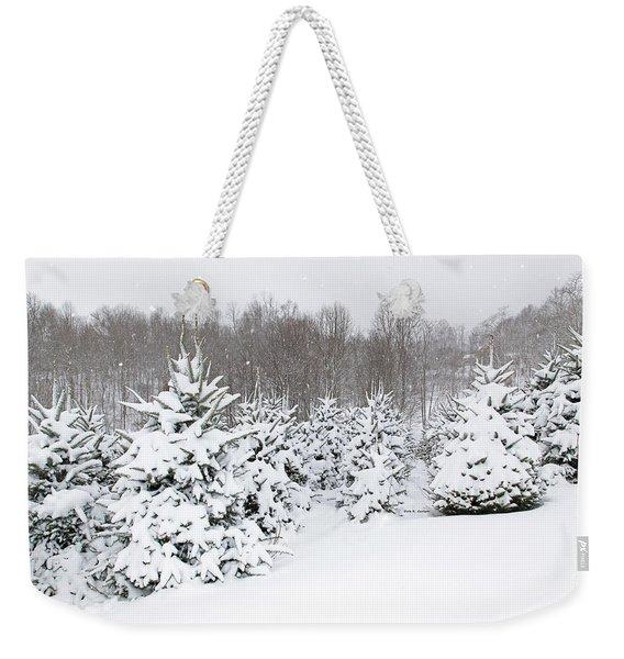 Fraser Snow Weekender Tote Bag
