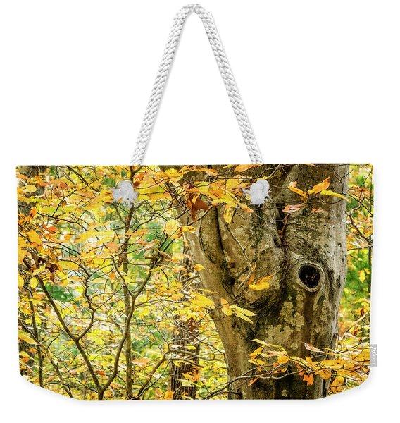 Tree Hollow Weekender Tote Bag
