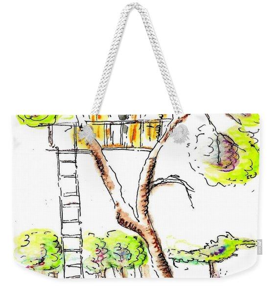 Tree House  Weekender Tote Bag