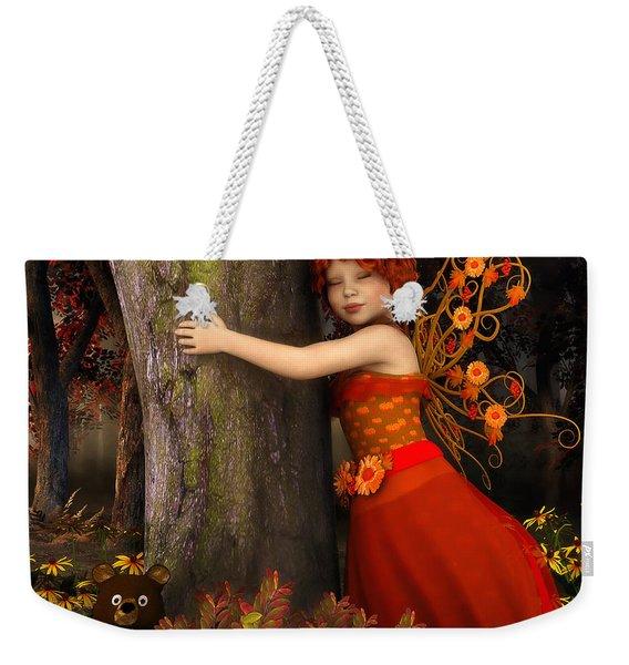 Tree Hug Weekender Tote Bag