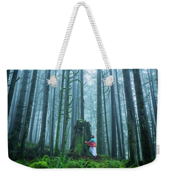 Tree Hugger Weekender Tote Bag