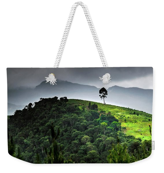 Tree In Kilimanjaro Weekender Tote Bag