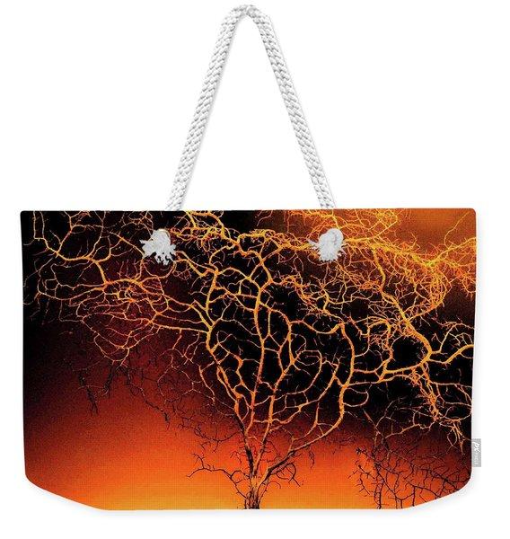 Tree In Light Weekender Tote Bag