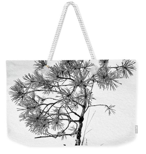 Tree In Winter Weekender Tote Bag