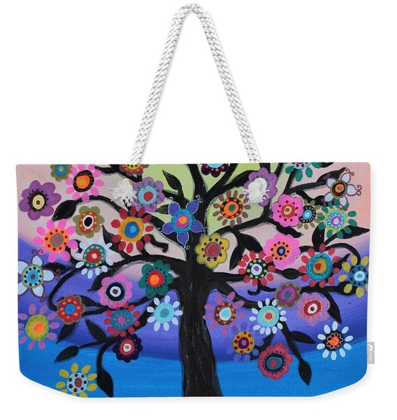 Blooming Tree Of Life Weekender Tote Bag