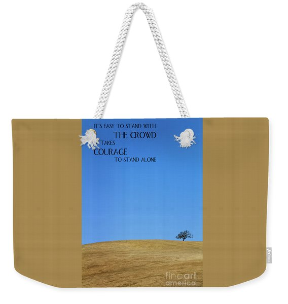Tree Of Courage Weekender Tote Bag