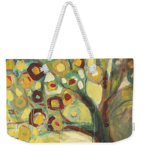 Tree Of Life In Autumn Weekender Tote Bag