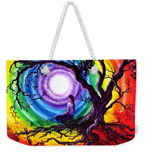 Tree Of Life Meditation Weekender Tote Bag