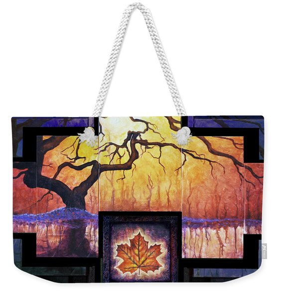Tree Of Life The Giver Weekender Tote Bag