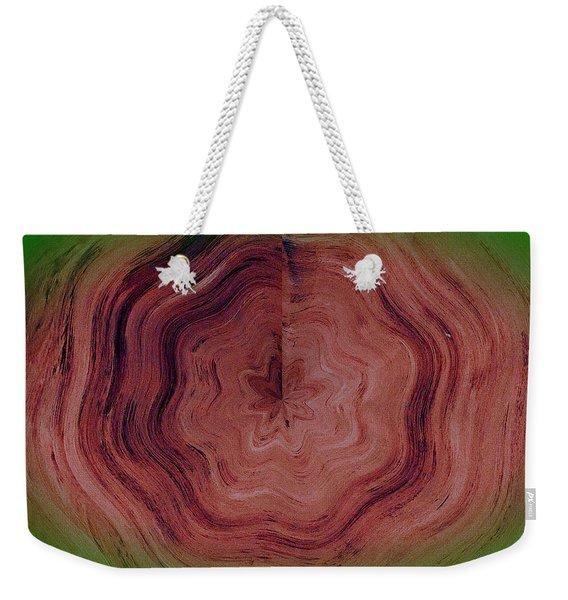Tree Rings Weekender Tote Bag