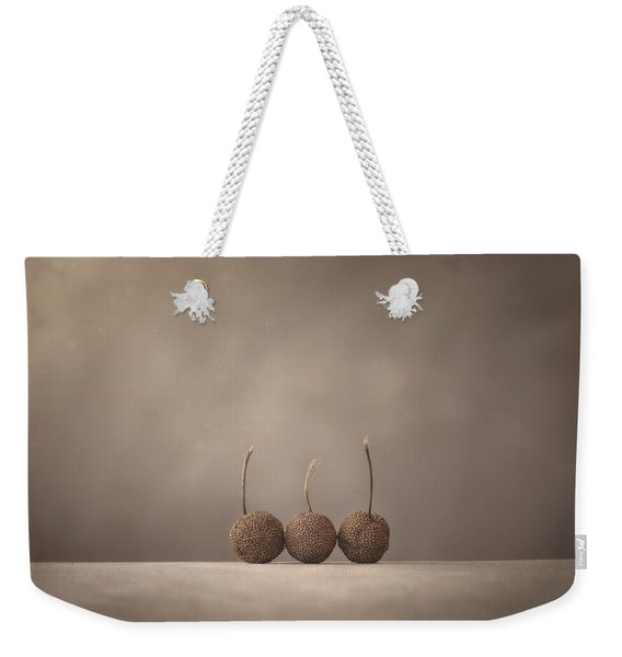 Tree Seed Pods Weekender Tote Bag