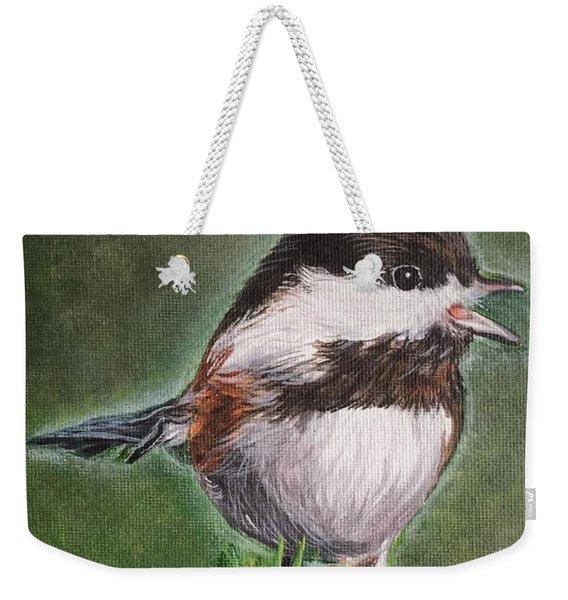 Tree Topper Weekender Tote Bag
