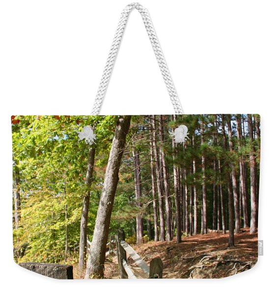 Tree Trail Weekender Tote Bag