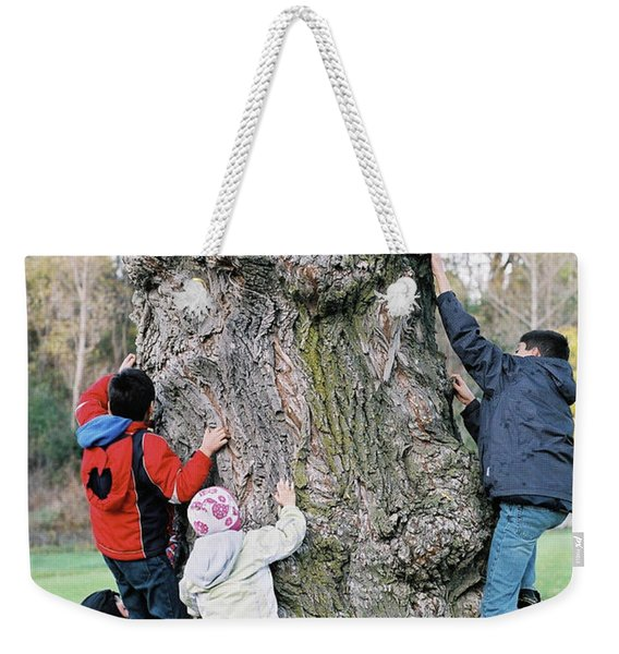 Tree Urchins Weekender Tote Bag