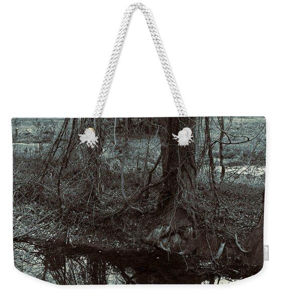 Tree Vines Water Weekender Tote Bag
