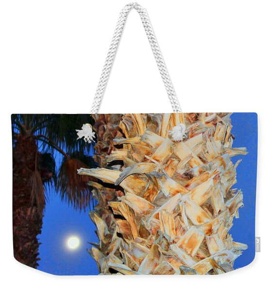 Trees Capture Sun Weekender Tote Bag