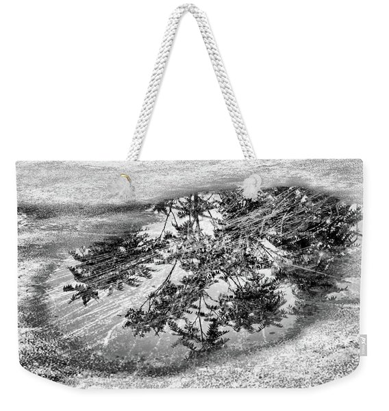Trees In A Puddle Weekender Tote Bag