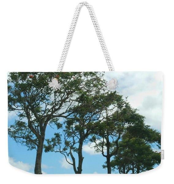 Trees In Kauai Weekender Tote Bag