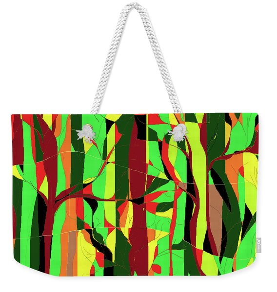 Trees In The Garden Weekender Tote Bag