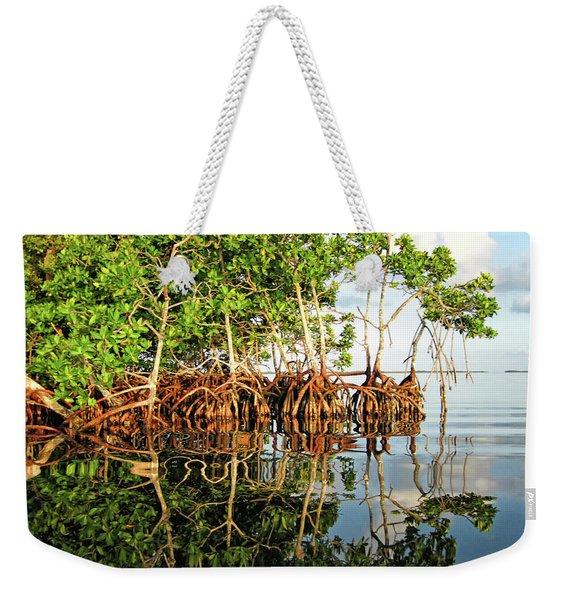 Trees In The Sea Weekender Tote Bag
