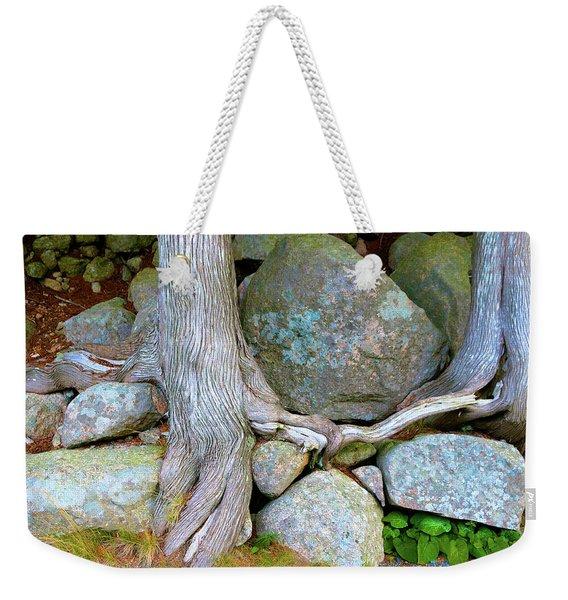 Trees Play Footsie Weekender Tote Bag